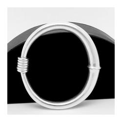 Sterling Silver Roman Inspired Bangle Bracelet