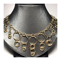 rings around the roses necklace